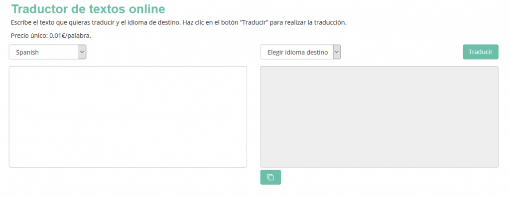 traduccion automatica ATS cloud