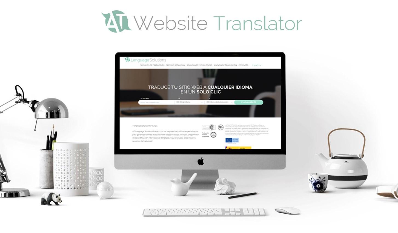 traducir una web